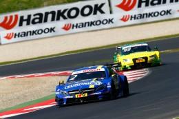 #2 Gary Paffett, Mercedes-AMG C 63 DTM, #99 Mike Rockenfeller, Audi RS5 DTM