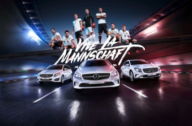 """EM-Kampagne geht in die zweite Runde: Hand aufs Herz: Mercedes-Benz präsentiert emotionale Fortsetzung von """"Vive La Mannschaft"""""""