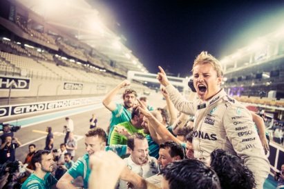 Nico Rosberg 2016 World Championship Victory Behind-the-Scenes Imagery